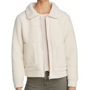 Glamorous Los Angeles Faux Shearling Bomber, XS